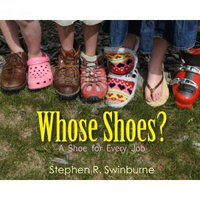 Whose shoes book cover