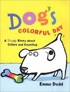 Dog's Colorful Day cover