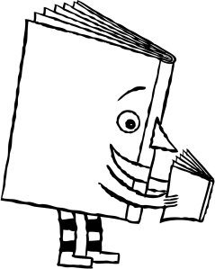 Book reading book image