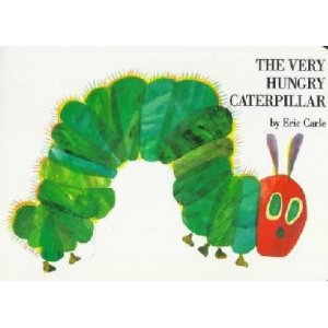 The Very Hungry Caterpillar by Eric Carle cover