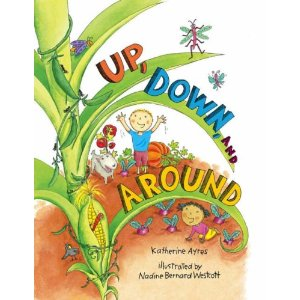 Up, Down and Around by Katherine Ayres cover