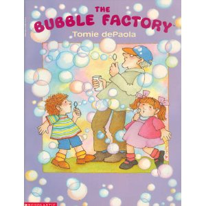 The Bubble Factory by Tomie DePaola cover