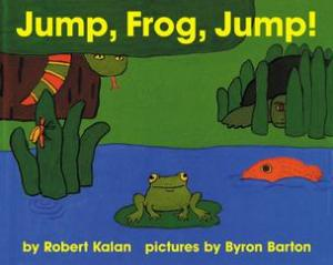Jump, Frog, Jump! by Robert Kalan cover