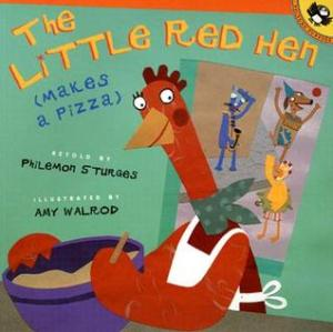 The Little Red Hen (Makes a Pizza) cover