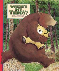 Where's My Teddy? by Jez Alborough cover