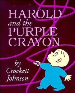 Harold and the Purple Crayon by  Crockett Johnson cover