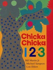 Chicka Chicka 1,2,3 by Bill Martin cover