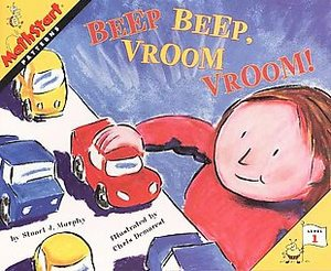 Beep Beep, Vroom  Vroom by Stuart J. Murphy cover