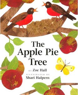 The Apple Pie Tree by Zoe Hall cover