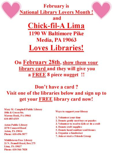 february flyer chick fil a
