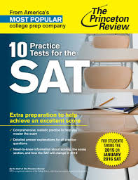 10 PRAC TESTS FOR THE SAT